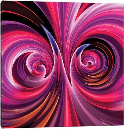 Camera Toss Abstract III Canvas Art Print