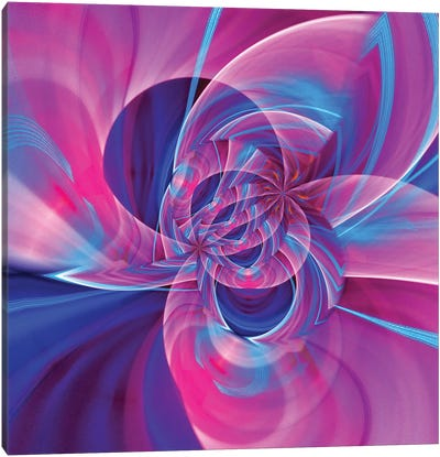 Camera Toss Abstract VI Canvas Art Print