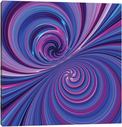 Camera Toss Abstract VII Canvas Art Print