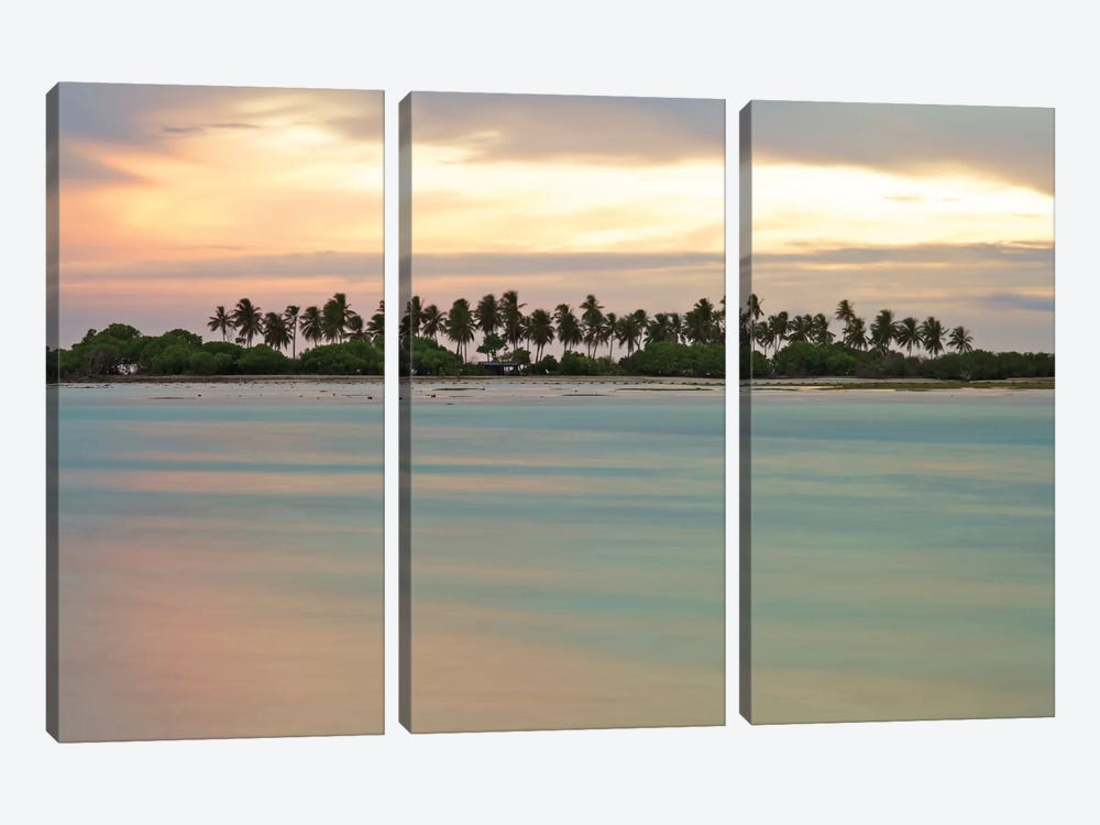 Maldives CVII by Mark Paulda 3-piece Canvas Art