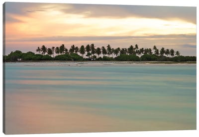 Maldives CVII Canvas Art Print