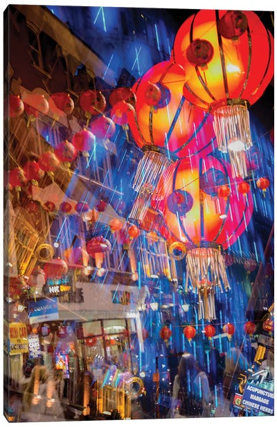Chinese Lanterns Canvas Art Print