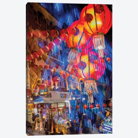 Chinese Lanterns Canvas Print #PAU155} by Mark Paulda Canvas Art