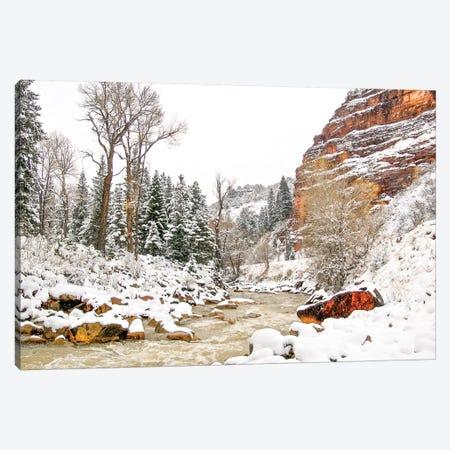 Colorado Cold 3-Piece Canvas #PAU158} by Mark Paulda Canvas Art Print