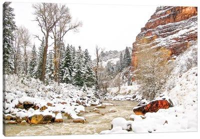 Colorado Cold Canvas Art Print