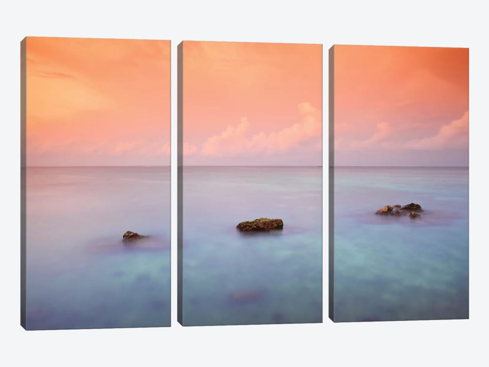 Maldives CXLIX by Mark Paulda 3-piece Canvas Print