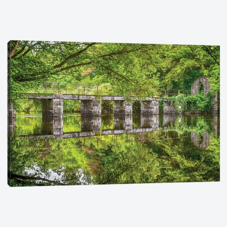 Cong Abbey - West Ireland Canvas Print #PAU160} by Mark Paulda Canvas Artwork