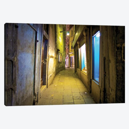 Crooked Venice Canvas Print #PAU162} by Mark Paulda Canvas Art