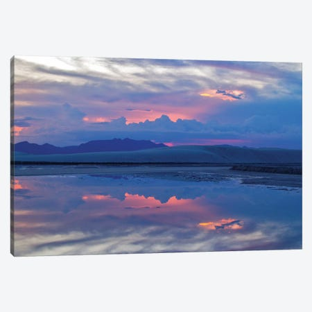 Desert Thunderstorm Canvas Print #PAU165} by Mark Paulda Canvas Art Print