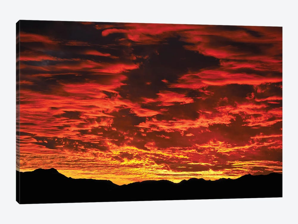 Fire In The Sky Sunset by Mark Paulda 1-piece Canvas Artwork