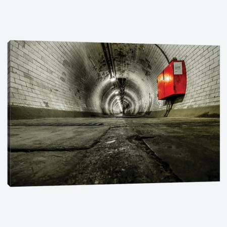 Greenwich Foot Tunnel - London Canvas Print #PAU177} by Mark Paulda Canvas Artwork