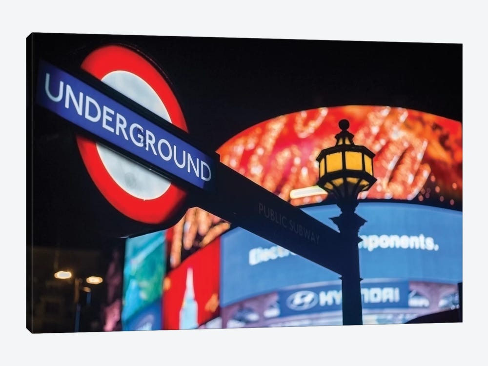 Piccadilly Circus by Mark Paulda 1-piece Art Print