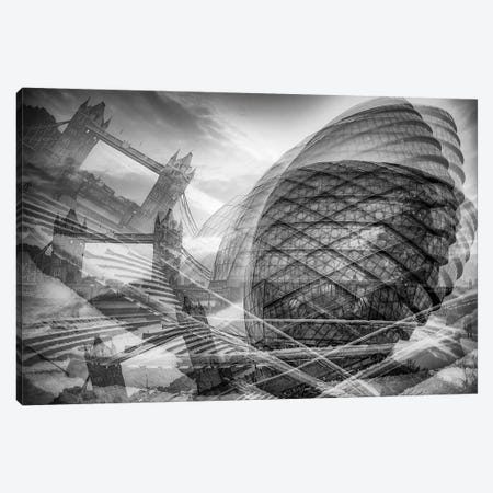 London Chaos Canvas Print #PAU188} by Mark Paulda Canvas Art