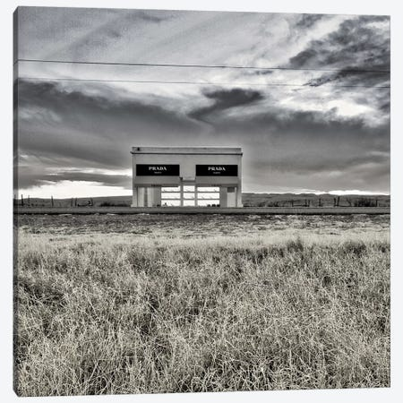 Prada Marfa I Canvas Print #PAU192} by Mark Paulda Art Print