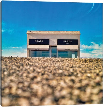 Prada Marfa VI Canvas Art Print