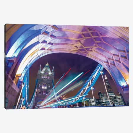 A Drive Through Tower Bridge Canvas Print #PAU1} by Mark Paulda Canvas Art Print