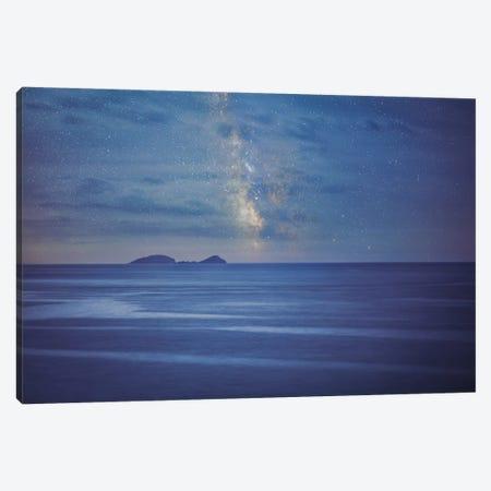 Milky Way Over The Adriatic Sea Canvas Print #PAU200} by Mark Paulda Canvas Print