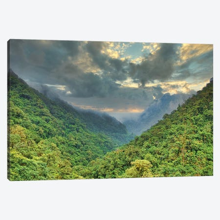 Andes Mountain Storm Canvas Print #PAU203} by Mark Paulda Art Print