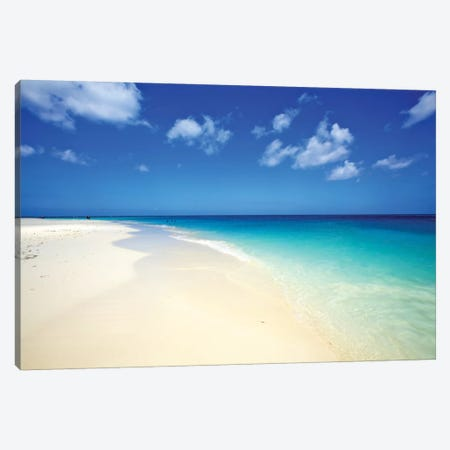 Serenity In Aruba I. Canvas Print #PAU21} by Mark Paulda Art Print