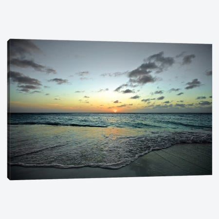Serenity In Aruba II. Canvas Print #PAU22} by Mark Paulda Art Print