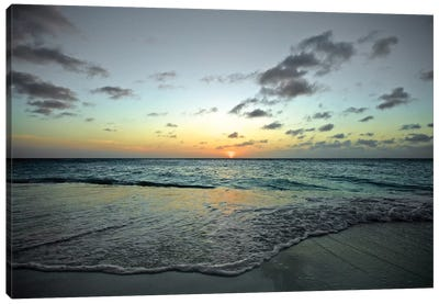 Serenity In Aruba II. Canvas Art Print