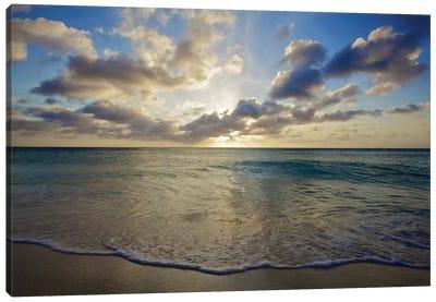 Serenity In Aruba III Canvas Print #PAU23