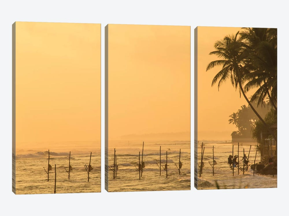 Sri Lanka I by Mark Paulda 3-piece Canvas Print