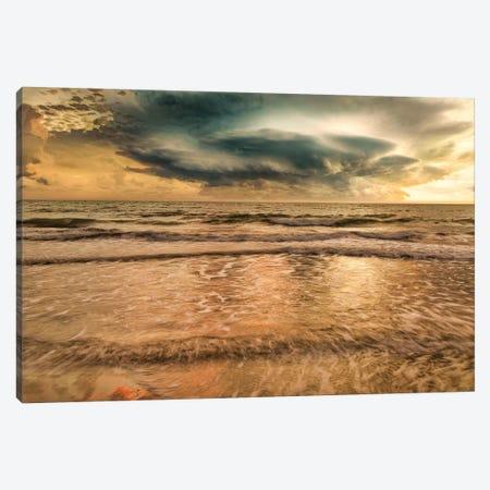 Unsettled Sea Canvas Print #PAU255} by Mark Paulda Canvas Art Print