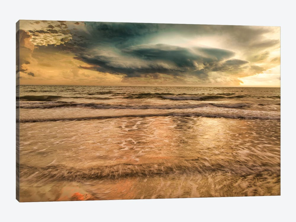 Unsettled Sea by Mark Paulda 1-piece Canvas Art Print