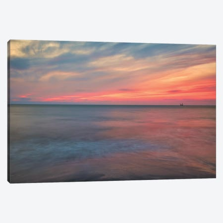 Subtle Sunset Canvas Print #PAU261} by Mark Paulda Canvas Art Print