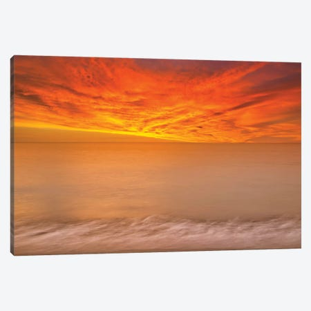 Colombia Sunset Drama Canvas Print #PAU267} by Mark Paulda Canvas Art