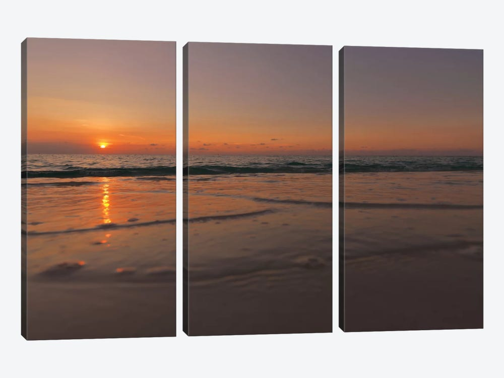Sunset Over Aruba by Mark Paulda 3-piece Art Print