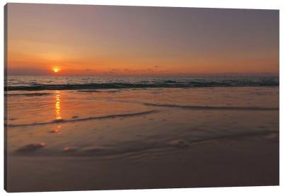 Sunset Over Aruba Canvas Art Print