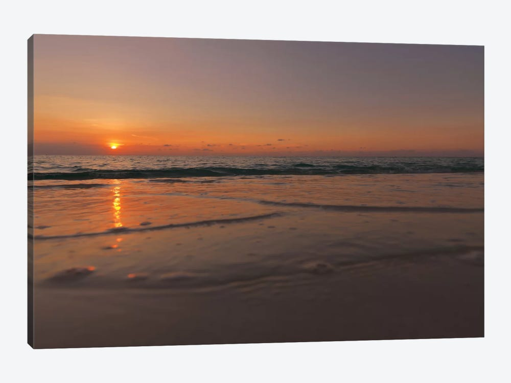 Sunset Over Aruba by Mark Paulda 1-piece Canvas Art Print