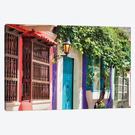 Cartagena Charm Canvas Print #PAU272} by Mark Paulda Canvas Wall Art