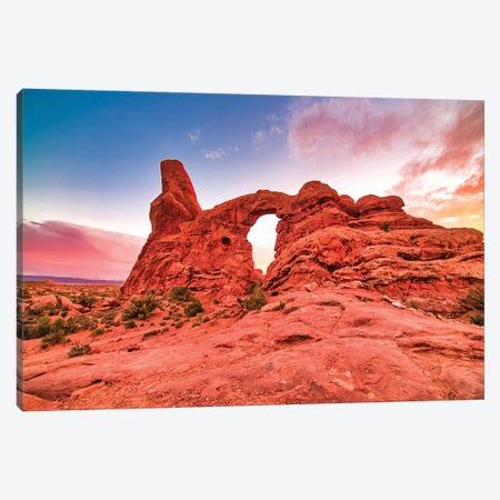 Natural Desert Arch Canvas Print #PAU292} by Mark Paulda Canvas Art