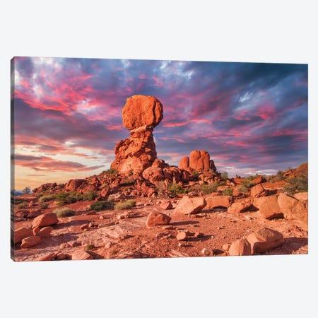 Balanced Rock Canvas Print #PAU293} by Mark Paulda Canvas Art