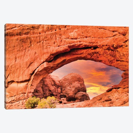 Moab Canvas Print #PAU294} by Mark Paulda Canvas Print