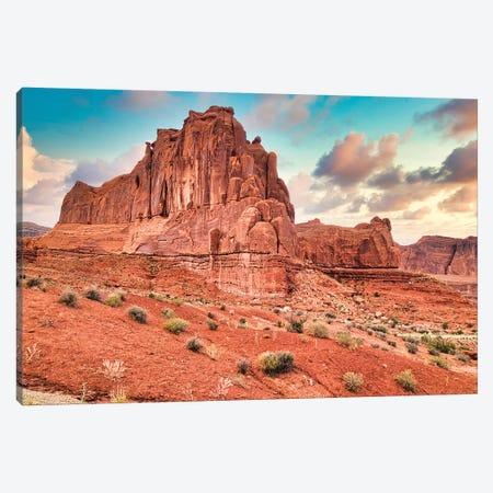 Desert Fortress Canvas Print #PAU300} by Mark Paulda Canvas Art