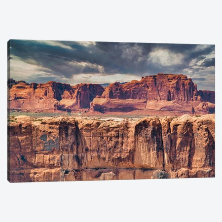 Desert Storm Canvas Print #PAU303} by Mark Paulda Canvas Art