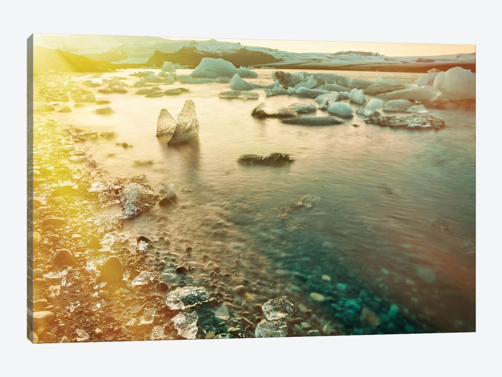 Jökulsárlón Glacier Lagoon by Mark Paulda 1-piece Art Print
