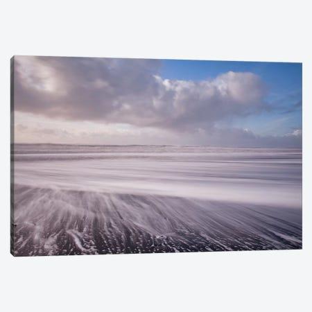 Iceland Waves Canvas Print #PAU307} by Mark Paulda Canvas Art Print