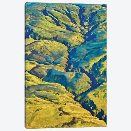 Iceland Volcanic Landscape Canvas Print #PAU309} by Mark Paulda Canvas Art