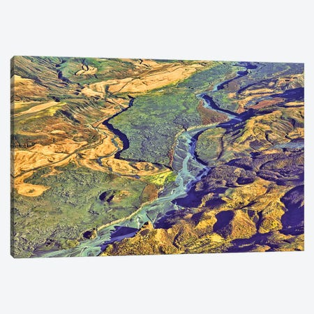 Iceland Volcanic Landscape II Canvas Print #PAU310} by Mark Paulda Art Print