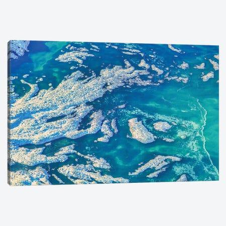 Iceland Ice Water Canvas Print #PAU315} by Mark Paulda Canvas Wall Art