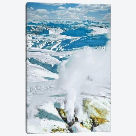 Iceland Geyser 3-Piece Canvas #PAU319} by Mark Paulda Canvas Print