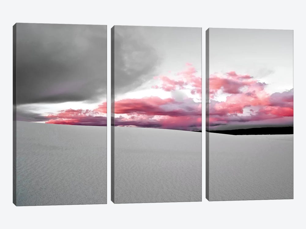 White Sands National Park I by Mark Paulda 3-piece Canvas Art Print