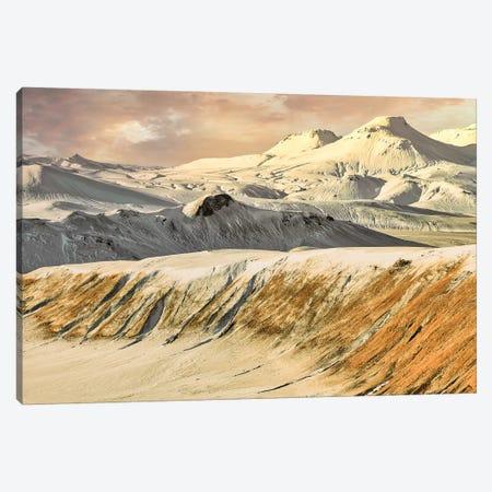 Iceland Sunrise Canvas Print #PAU320} by Mark Paulda Canvas Wall Art