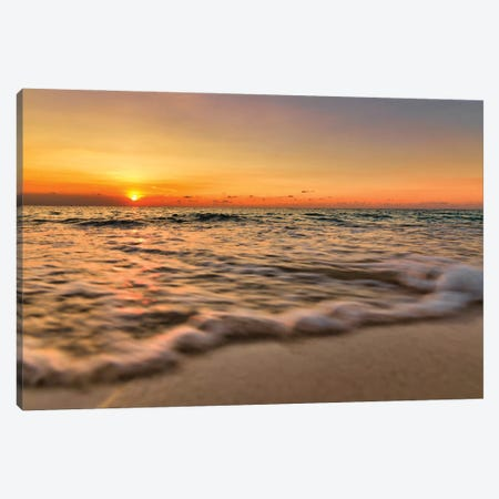 Caribbean Warm Waters Canvas Print #PAU323} by Mark Paulda Canvas Wall Art