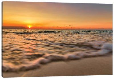 Caribbean Warm Waters Canvas Art Print